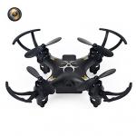 โดรนติดกล้อง Thyo โดรน จิ๋ว drone tyh933 ฟังชั่นเหมือน cx10wd มีไวไฟมีกล้อง(รุ่นใหม่) สีดำ Black
