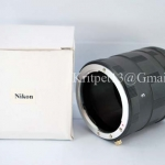 3 Ring Macro Extension Tube for Nikon Len