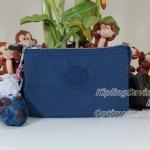 Kipling Creativity S Jazzy Blue กระเป๋าเอนกประประสงค์ขนาดเล็ก 3 ช่อง + 2ช่องเล็ก ขนาด 14.5 x 9.5 x5 cm