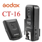 Godox CT-16 Set Wireless Radio Flash Trigger Transmitter + Receiver For Sony Canon Nikon