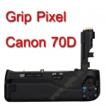Pixel BG-E14 Premium Grip for Canon 70D Premier Series New