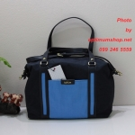 Kipling Karyn Blue Mix กระเป๋าหิ้ว หรือสะพายน่ารัก ขนาด L13.5 x H 10 X D 6 นิ้ว