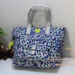 Kipling Tabby Mod Mood กระเป๋าช็อปปิ้ง เปิดง่าย ใบใหญ่ ขนาด 17.5 x 12.75 x 5 นิ้ว