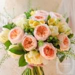 The old rose bouquet | ดอกไม้โอโรสกับความอ่อนหวาน - ร้านดอกไม้ Floraison