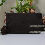 Kipling Creativity L Chester Brown กระเป๋าอนกประสงค์ 3 ช่อง + 2 ช่องเล็ก ขนาด 18.5 x 11 x 5 cm