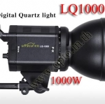 LQ1000 Continuous Lighting Digital Quartz Light bulb Photography with Dimmer 1000W