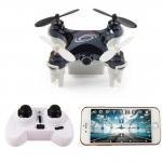โดรนติดกล้อง จิ๋ว L7HW Mini FPV Drone Camera 720P Wi-Fi 3D VR Function (สีดำ)