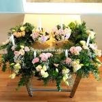 Altar Floral decoration   ดอกไม้ประทับแท่นบูชา