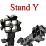Stand Y DSLR Flash Shoe Umbrella Holder 3x Triple Flash