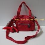 Kipling Ryder S Cardinal Red กระเป๋าหิ้วกุ๊กกิ๊ก หรือสะพายน่ารัก ขนาด L8 x H 6.75 X 2.75 นิ้ว