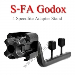 S-FA Godox 4 Four Speedlite stand Adapter ขาจับแฟลช4ตัว