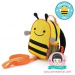 กระเป๋าเป้สายจูง ลายผึ้ง