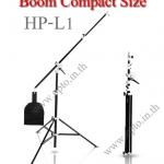 HP-L1 Boom Stand Compact Size for Flash Studio Light (H/400cm.)