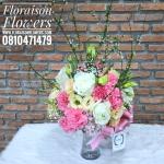 แจกันดอกไม้สำหรับตกแต่งบ้าน ให้สดใส
