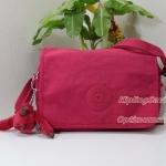 Kipling Delphin N Flamboyant Pink ขนาด 23 x 15.5 x 5 cm สะพายน่ารัก