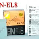 OEM Battery for Nikon EN-EL8 Coolpix P1 P2 P3 S1 S2 S3 แบตเตอรี่กล้องนิคอน