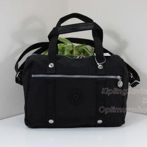 Kipling Darlena Black กระเป๋าหิ้ว หรือสะพาย ขนาด L12.25 x H 9 X D 6 นิ้ว