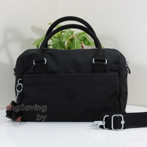 Kipling Beonica Black จากเบลเยี่ยม กระเป๋าสะพายข้าง ขนาด 33.5 L x 22.5 H x 16.5 W cm