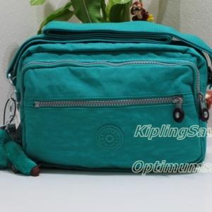 Kipling Deena Brilliant Jade กระเป๋าสะพายคล้ายรุ่น Reth ขนาด 10 x 7.5 x 5 นิ้ว
