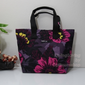 Kipling Niamh Rose Bloom กระเป๋าโท๊ต มีบุกันความร้อนด้านใน ขนาด 35 L x 25 H x 9W cm