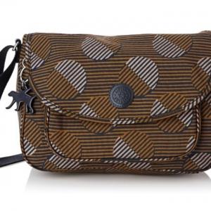 Kipling Sunita Moonscape Pr กระเป๋าสะพายขนาดกลาง ขนาด 31 L x 21 H x 14 W cm
