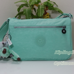 Kipling Callie Seafoam Green กระเป๋าสะพาย ขนาด L10.5 x H7.5 x D 4.5 นิ้ว