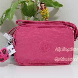 Kipling Dee II Vibrant Pink กระเป๋าสะพายน่ารัก ขนาด L7.5 x H 5 X 2.75 นิ้ว