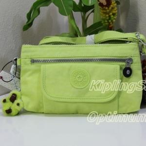 Clearance Kipling Alwyn Blazing Yellow กระเป๋าสะพายใบเล็ก กระทัดรัด น่ารัก ขนาด L9 x H 4.75 W 1.75 นิ้ว