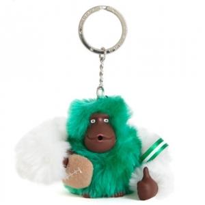 Kipling Varsity monkey keychain มาพร้อมกล่องพลาสติกใส ขนาด 4x3.25x2.25 นิ้ว