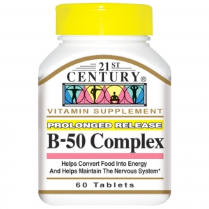 21st Century, B-50 Complex, 60 Tablets