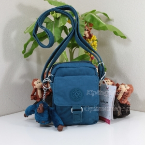 Kipling Teddy Teal C ใบเล็กๆ mini bag ขนาด 10 L x 14 H x 6.5 W cm