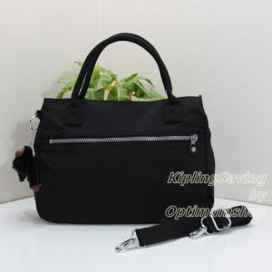 Kipling Sevrine Black กระเป๋าถือ หรือ สะพาย ขนาด 32L X 22.5H X 11W cm