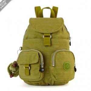 Kipling Lovebug Dazzling Mossy Green กระเป๋าสะพายเล็ก ทรงและขนาดเดียวกับ Firefly n ขนาด L9 x H 11.75 x D 6.25 นิ้ว