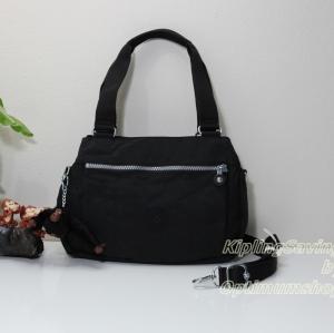 Kipling Orelie Black กระเป๋าถือ หรือสะพายข้าง ทรงสวย ขนาด ขนาด 31x 20.5 x 12 cm
