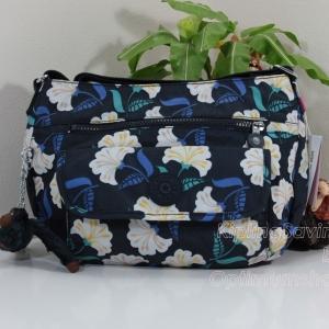 Kipling Syro Magnolia Pr กระเป๋าสะพายข้าง ทรงสวย เหมาะกับสาวหวานๆ ขนาด 31 L x 22 H x 12.5 W cm