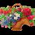ตะกร้า - กระเช้าดอกไม้
