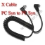 PC Sync Cable/Cord For Camera Flash Trigger with PC Syn thumbnail 1