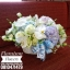 กระเช้าดอกไม้ ม่วง ฟ้า ขาว (L) thumbnail 2