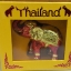 โมเดลช้างทรงเครื่อง Size S ของที่ระลึกไทย (0004) thumbnail 4