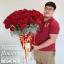 กล่องดอกไม้วันเกิด กุหลาบแดง (Premium) thumbnail 2