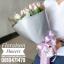 ช่อดอกไม้ ทิวลิปชมพู ม่วง (L) thumbnail 2