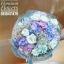 ช่อดอกไม้วันเกิด ม่วงขาวพาสเทล (XL) thumbnail 1