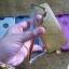 เคส iPhone 4/4s TPU กากเพชร 2 in1 สีเงิน thumbnail 3