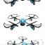 DRONE โดรนติดกล้อง pantonma สีฟ้า/สีทอง โดรนที่ได้ รางวัลการออกแบบ เรดดอทปี 2560 รีโมทสุดเท่ เสียบมือถือได้ไว้ดูภาพ realtime thumbnail 3