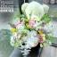 ตุ๊กตาหมีกอดตะกร้าดอกไม้ พาสเทล (PREMIUM) thumbnail 3