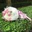 ช่อดอก กุหลาบสีชมพู - ไฮเดรนเยียสีขาว (M) thumbnail 3