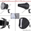AC200W แสงสีเหลือง 3300K Opto LED With Dimmer 20000lm Sport Light equivalent 2000w ไฟLEDสปอร์ตไลท์ thumbnail 5