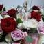 กระเช้าดอกไม้ ดอกกุหลาบ (XL) thumbnail 3