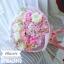 ช่อดอกไม้สีชมพู เกล็ดหิมะ (M) thumbnail 2