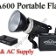 TA600 Portable Double Power Studio Strobe Flash Light 600Ws thumbnail 1